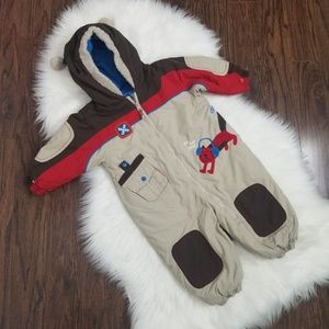 Gagou Tagou | Toddler One Piece Snow Suit Baby Boy